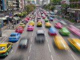 Traffic Congestion in Central Bangkok, Thailand Photographic Print by Gavin Hellier