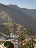 Canary Islands, La Gomera, Vallehermoso Town Photographic Print by Michele Falzone
