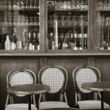 Cafe/Brasserie, Marais District, Paris, France Photographic Print by Jon Arnold