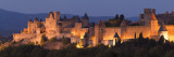 France, Languedoc-Rousillon, Carcassonne; the Fortifications of Carcassonne at Dusk Photographic Print by Katie Garrod