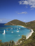 Caribbean, British Virgin Islands, Jost Van Dyke, White Bay Photographic Print by Michele Falzone