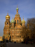Russia, St; Petersburg; the Restored Church of Christ the Saviour Photographic Print by Ken Sciclina