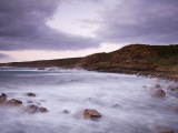 Australia, Western Australia, Leeuwin-Naturaliste National Park; Cape Naturaliste at Dusk Photographic Print by Andrew Watson