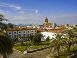 View of Zafra from the Parador Hotel, Extremadura, Spain, Europe Photographic Print by Carlos Sanchez Pereyra