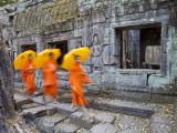 Ta Phrohm Temple, Angkor Wat, Siem Reap, Cambodia Photographie par Gavin Hellier