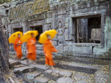 Ta Phrohm Temple, Angkor Wat, Siem Reap, Cambodia Photographic Print by Gavin Hellier
