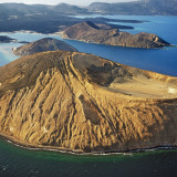 An Aerial View of the Caldera Sisale Kôma Photographic Print by Nigel Pavitt