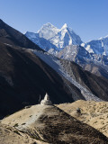 Asia, Nepal, Himalayas, Sagarmatha National Park, Solu Khumbu Everest Region Photographic Print by Christian Kober