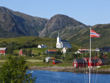 The Harbour Town of Malnes, Vesteralen, Nordland, Norway Photographic Print by Doug Pearson