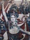 East Germany Monumental Propaganda, Dresden, Saxony, Germany Fotografie-Druck von Ivan Vdovin