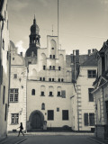 Latvia, Riga, Old Riga, Three Brothers Houses, Oldest in City Photographic Print by Walter Bibikow