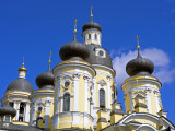 Russia, St Petersburg; Cupolas of the Vladimirsky Church Photographic Print by Nick Laing