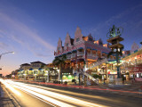 Caribbean, Netherland Antilles, Aruba, Oranjestad Main Street Photographic Print by Michele Falzone