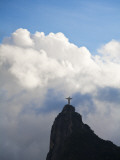 Brazil, Rio De Janeiro, Statue of Christ Photographic Print by Jane Sweeney
