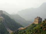 China, Tianjin, Taipinzhai; a Section of China's Great Wall from Taipinzhai to Huangyaguan Fotoprint van Amar Grover
