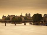 Pont Des Arts and River Seine, Paris, France Photographic Print by Jon Arnold