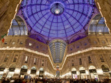 Italy, Milan, Galleria Vittorio Emanuele Ii Photographic Print by Michele Falzone