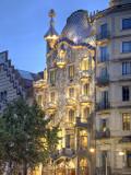 Casa Batllo von Gaudi, Passeig De Gracia, Barcelona, Spanien Fotodruck von Jon Arnold