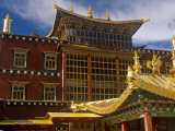 China, Zhongdian; the Dukhang, Is One of Songzhanling Monasteries Most Prominent Buildings Photographic Print by Amar Grover