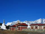 Nepal, Himalayas, Sagarmatha National Park, Solu Khumbu Everest Region, Tengboche Monastery Photographic Print by Christian Kober