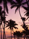 Dominican Republic, Samana Peninsula, Las Terrenas, Playa Las Terrenas Beach Fotografisk tryk af Walter Bibikow