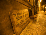 Czech Republic, Prague; Outside One of the Oldest Taverns of the City Photographic Print by Ken Sciclina