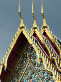 Scene around the Wat Arun Temple in Bangkok Thailand Photographic Print by Dan Bannister