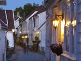 Old Wooden Buildings, Gamle Stan (Old Town), Stavanger, Rogaland County, Norway Photographic Print by Doug Pearson