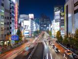 Otakibashi Dori, Shinjuku, Tokyo, Japan Photographic Print by Jon Arnold