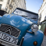 Citroen 2Cv Car in Paris, France Photographic Print by Jon Arnold