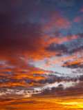 Sunset Sky Photographic Print by Jon Arnold