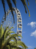 Australia, Western Australia, Perth; the 50 Metre High Wheel of Perth Ferris Wheel Photographic Print by Andrew Watson