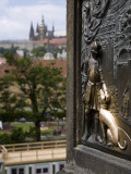 Czech Republic, Prague; Plaque at the Base of the John of Nepomuk Statue Photographic Print by Niels Van Gijn