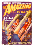 Amazing Stories The 4 Sided Triangle (Women) Posters