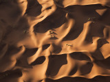 Aerial View over Sand Dunes, Namib Desert, Namibia Photographic Print by Peter Adams