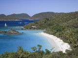 Caribbean, Us Virgin Islands, St; John, Virgin Islands National Park, Trunk Bay Photographic Print by Michele Falzone