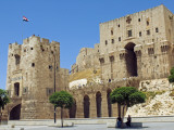 Syria, Aleppo; Entrance to the Citadel Photographic Print by Nick Laing