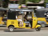 India, Tamil Nadu; Tuk-Tuk (Auto Rickshaw) in Madurai Photographic Print by Will Gray