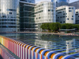 Partial View of La Defense, the Main Business District in Paris, France Photographic Print by Carlos Sanchez Pereyra