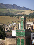 View across the Old Medina of Fes, Morocco Photographic Print by Julian Love