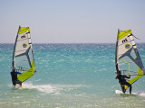 Water Activity in Tarifa, the Best Place for Watersports in Andalucia, Spain Photographic Print by Carlos Sánchez Pereyra