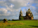 Russia; Karelia; Kizhi Island; the Twenty-Two Domed Cathedral of the Transfiguration Photographic Print by Ken Sciclina