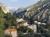 Europe, France, French Riviera, Cote D'Azur, Perched Village of Peillon Photographic Print by Christian Kober