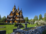 The Impressive Exterior of Heddal Stave Church, Norway's Largest Wooden Stavekirke Photographic Print by Doug Pearson