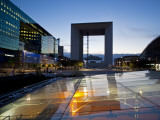 Le Grande Arche in La Defense, the Main Business District in Paris, France Photographic Print by Carlos Sanchez Pereyra