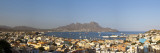 Africa, Cape Verde, Sao Vicente, Mindelo, View of Old Town and Harbour Photographic Print by Michele Falzone