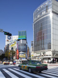 Pedestrian Crossing, Shibuya, Tokyo, Japan Photographic Print by Jon Arnold