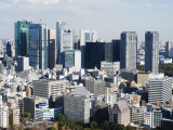 Asia, Japan, Tokyo, City Skyline View from Tokyo Tower Photographic Print by Christian Kober