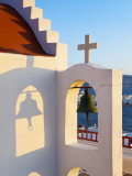 Traditional White Church, Mykonos (Hora), Cyclades Islands, Greece, Europe Photographic Print by Gavin Hellier