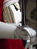 England, London; a Guardsman in the Household Cavalry Holding a Ceremonial Sword Photographic Print by John Warburton-lee